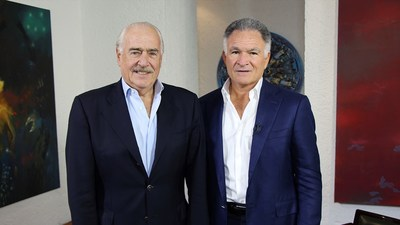 Expresidente Colombiano, Andres Pastrana con Dr. Dionisio Gutiérrez