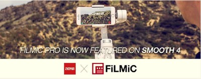 FiLMiC Inc Partners with ZHIYUN to Bring Cinema-Quality Stabilization to Mobile Filmmakers at IBC 2018