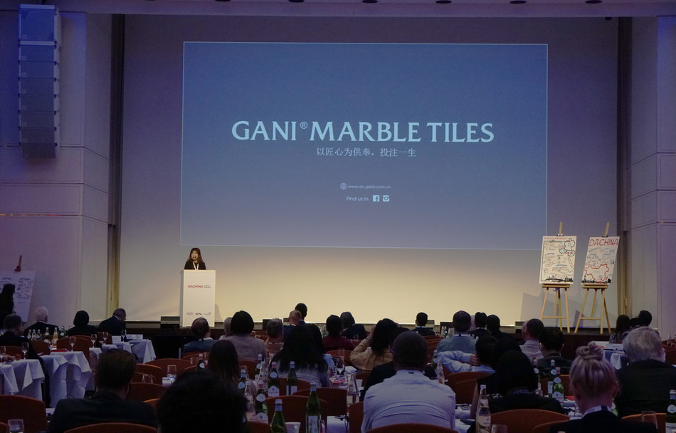 GANI MARBLE TILES Brand representative's speech