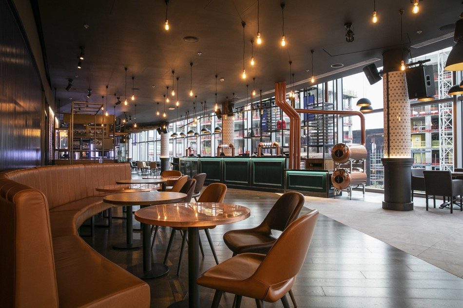 The latest addition to Club Wembley's Pride, The Lioness opens its doors this Saturday 8th September.  Responding to the latest trend for relaxed hospitality, there is no better way to enjoy England's homecoming game against Spain. (PRNewsfoto/Club Wembley)