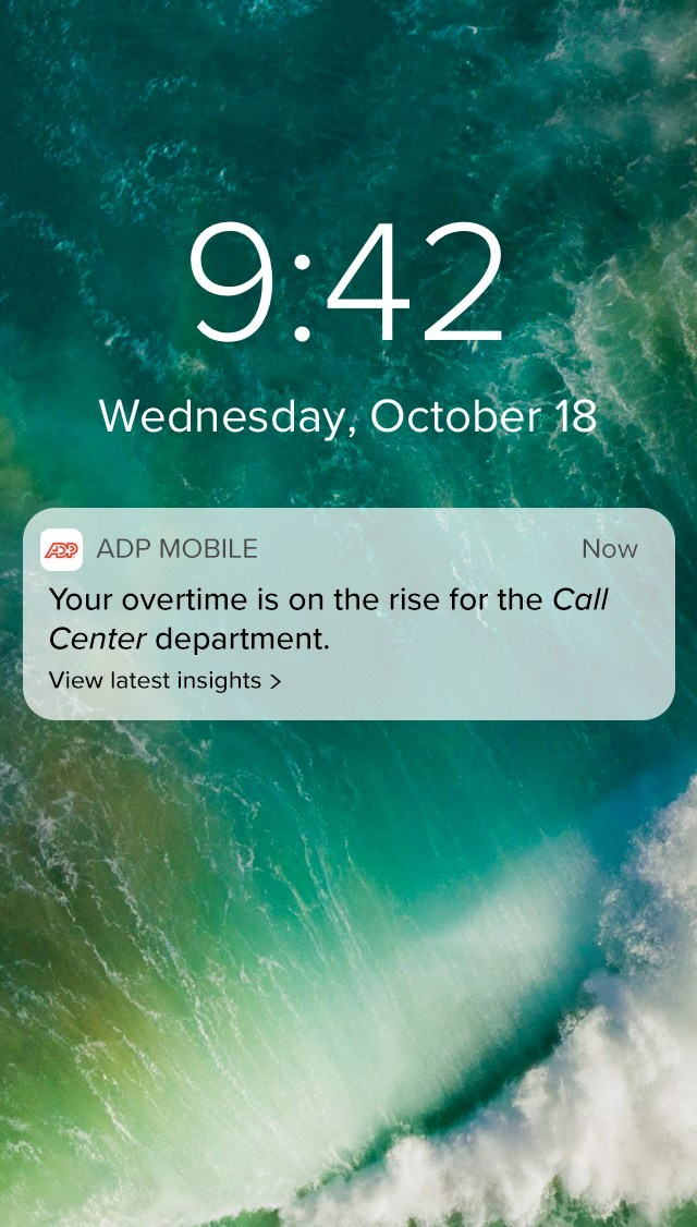 Getting Your Data to Work for You: ADP DataCloud Uncovers