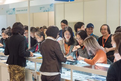 A successful launch in Taiwan Jewellery & Gem Fair 2017