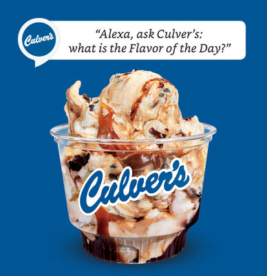 Culver's skill for Amazon Alexa allows guests to discover their local restaurant's Flavor of the Day.