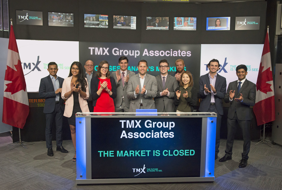 TMX Group Associates Close the Market (CNW Group/TMX Group Limited)