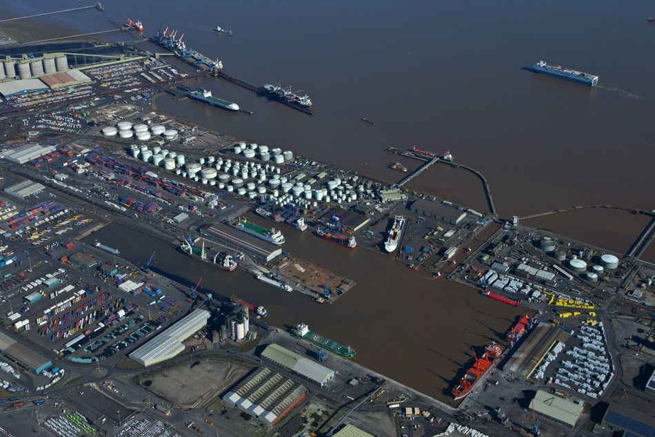 ABP's Port of Immingham, the UK's biggest port by tonnage (PRNewsfoto/ABP)