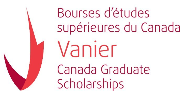 Logo: Vanier Canada Graduate Scholarships (CNW Group/Canadian Institutes of Health Research)