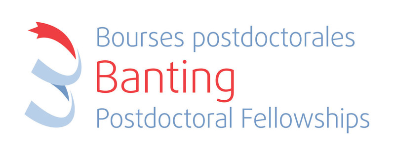 Logo : Banting Postdoctoral Fellowships (CNW Group/Canadian Institutes of Health Research)