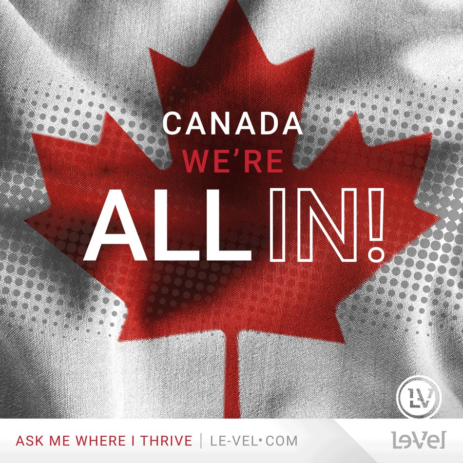 Le-Vel is thrilled to announce that the company is fully operational in Canada with a new website, packaging and fulfillment center.