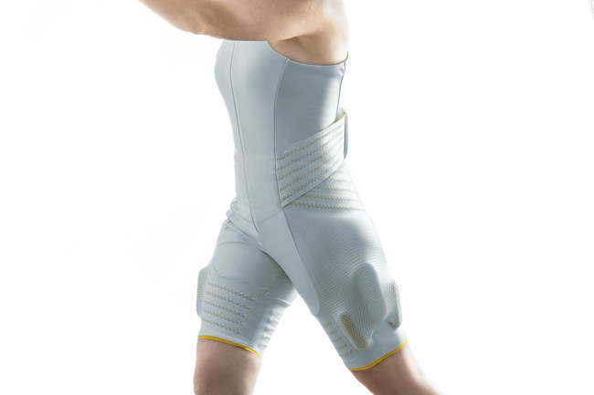 Seismic's Powered Clothing fuses discreet robotics with textiles to create products that look and feel like apparel, but function more like an extension of the human body - an extra set of muscles people can put on every day.