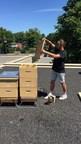 Les ruches Alvéole sur le toit de Place Longueuil (Groupe CNW/FONDS DE PLACEMENT IMMOBILIER COMINAR)