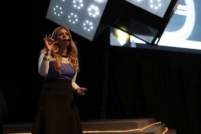 Natale en México como oradora principal de una conferencia tecnológica a principios de 2018