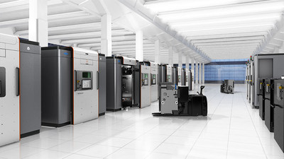 The modular design of the DMP Factory 500 allows manufacturers to create a custom solution for their production workflow to maximize their investment, while the integrated automation minimizes manual processes to reduce total cost of operation.