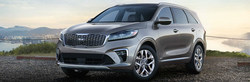 The 2019 Kia Sorento brings sporty exterior upgrades and new features to the third-row crossover model. (PRNewsfoto/Friendly Kia)