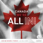 Le-Vel est ravie d'annoncer que la société est pleinement opérationnelle au Canada avec un nouveau site Web, un nouveau centre d'emballage et de traitement des commandes.