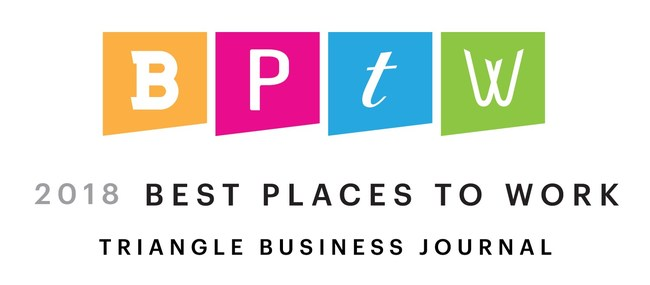 2018 Best Places to Work, Triangle Business Journal