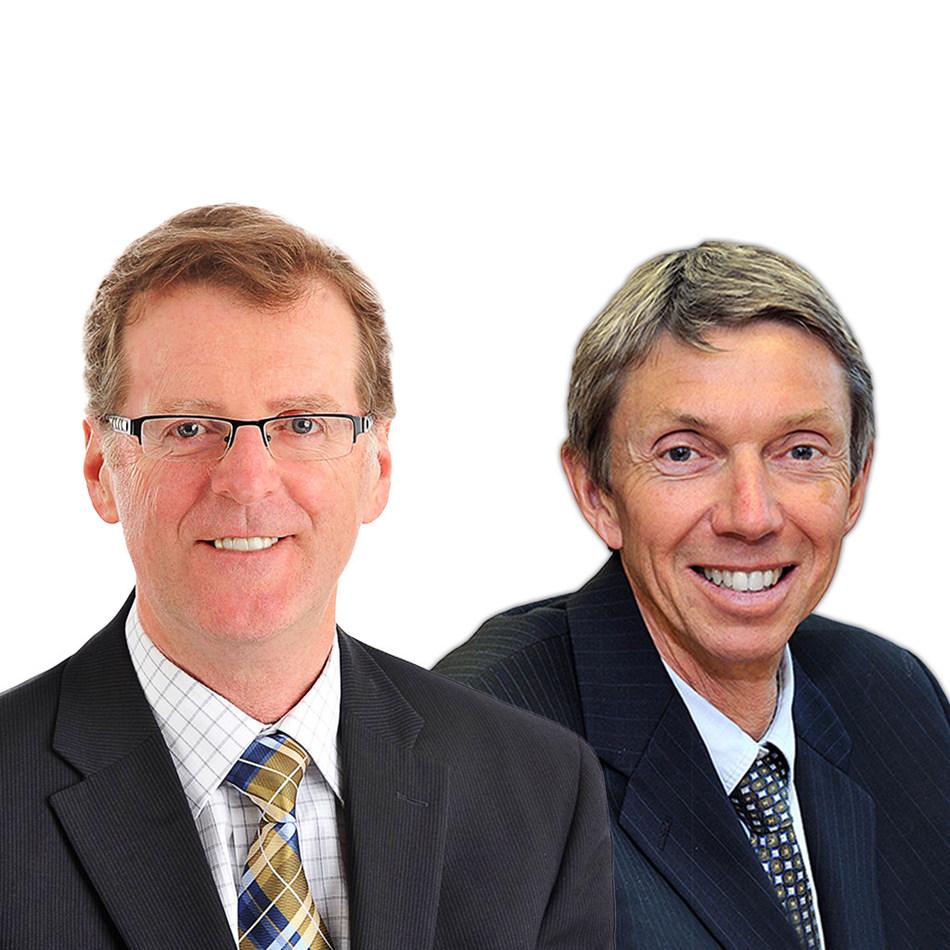 Grant Galbraith, Chair & Ken Tammadge, Firm Recruitment at Collins Barrow National (CNW Group/Collins Barrow National Cooperative Incorporated)