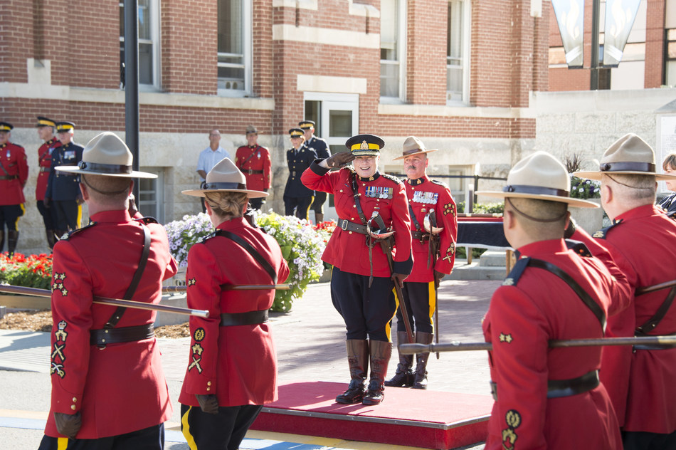 Brenda Lucki's ceremonial swearing-in as 24th Commissioner of the RCMP (CNW Group/Royal Canadian Mounted Police)