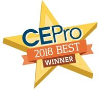 CEPro 2018 Best Award