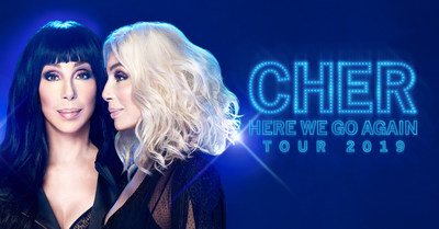 Cher – The HERE WE GO AGAIN Tour Dates Announced