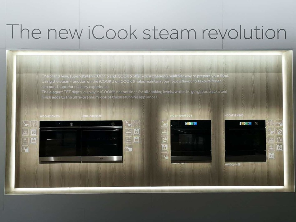 Casarte Showcases iCOOK Steam Oven With Moisture Preservation Functionality at IFA 2018