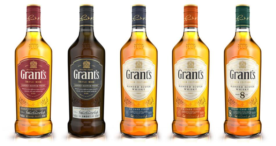 Grant's New Line-Up (PRNewsfoto/William Grant & Sons)