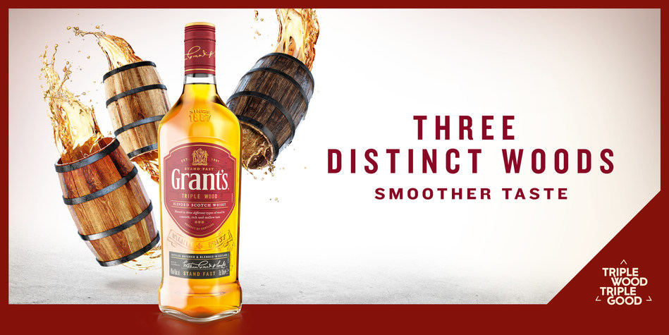 Grant's Triple Wood OOH Landscape (PRNewsfoto/William Grant & Sons)