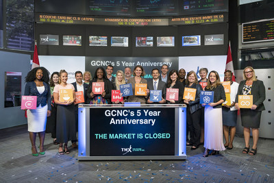 GCNC's 5 Year Anniversary Celebration Closes the Market (CNW Group/TMX Group Limited)