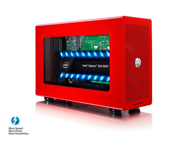 Akitio Node Lite with Intel Optane 905P SSD