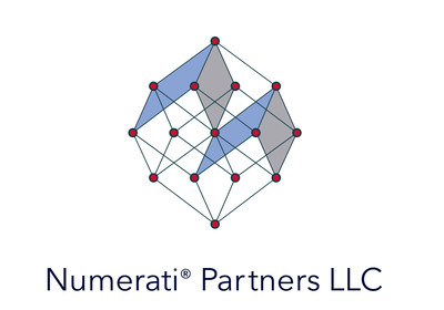 Numerati® Partners LLC coordinates a data analytics and technology development ecosystem, with the mission of advancing and fostering the next generation of scalable data-intensive risk and liability management enterprises.  The firm provides resources fundamental to advancing the development of nascent leading-edge inferential surveillance, monitoring, and predictive analytics technologies for deployment in the RiskTech domain (and the sub-domains of LitTech, RegTech and InsurTech). (PRNewsfoto/Numerati Partners LLC)