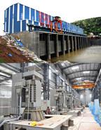 Kondaveeti Vaagu Lift Irrigation Project Pump House and Motors (PRNewsfoto/Megha Engineering)