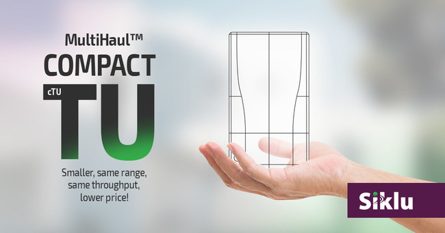 Siklu Announces the MultiHaul™ cTU