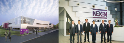 Nexen Tire Relocates Its Sales and R&D units to its Newly Opened German Headquarters Building