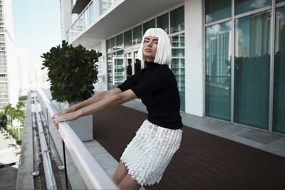 The Lace Mini Skirt- Julia Daviy