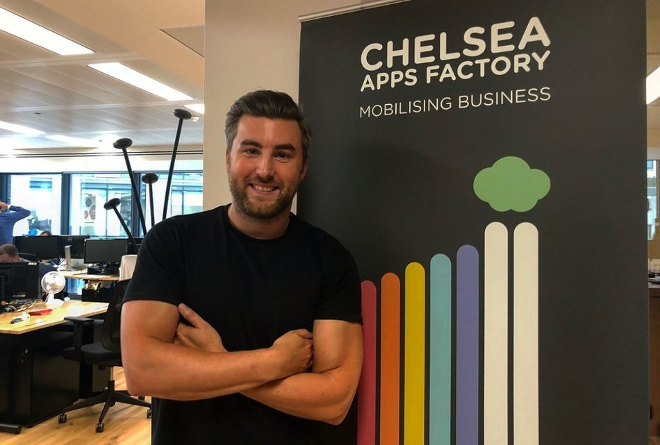 Chris Bishop, who joins Chelsea Apps Factory today as Business Director. (PRNewsfoto/Chelsea Apps Factory)