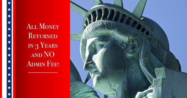 Ellis Island Capital has revealed how anyone using an EB-5 to immigrate to the US will never have to pay the $50,000 administration or broker fee again and they will be able to get their investment returned in 3 years; not the usual 5 years.