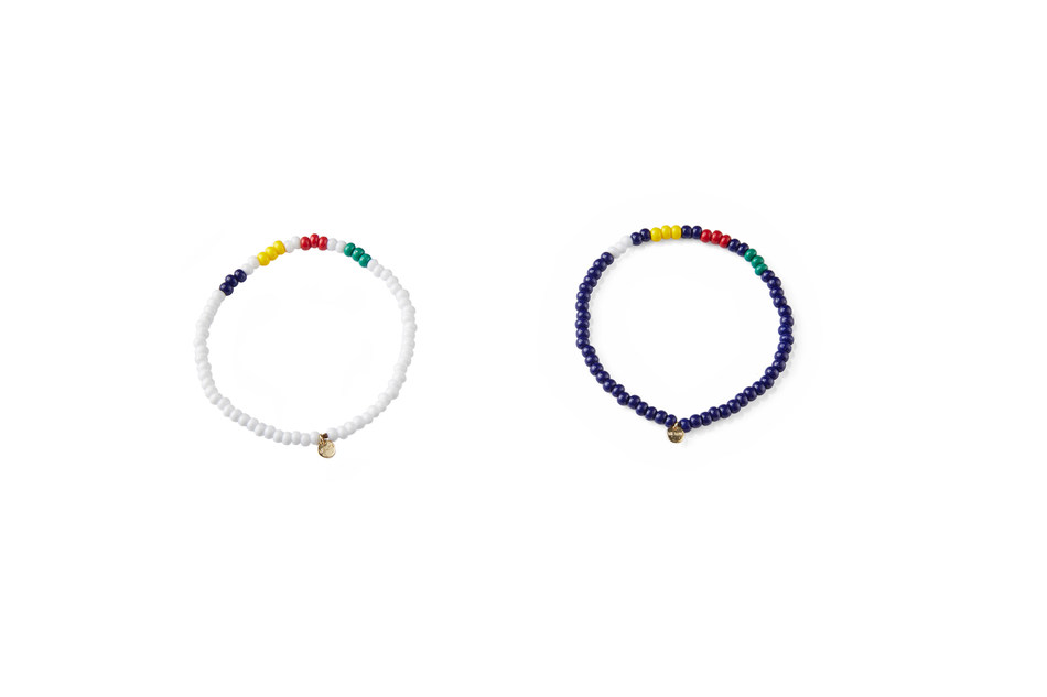 The WE Well-being for Youth Rafiki Bracelet will retail for $5.00 CAD with $2.50 from the sale of each bracelet going to support WE Charity's WE Well-being initiative. The bracelet features Hudson's Bay's iconic stripes is available exclusively on thebay.com today.