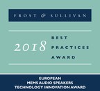 USound Earns Acclaim from Frost & Sullivan for Delivering an Exceptional Audio Experience with its MicroSound MEMS Products