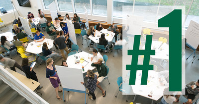 U.S. News & World Report has ranked Babson College the No. 1 undergraduate school for entrepreneurship for the 22nd consecutive time