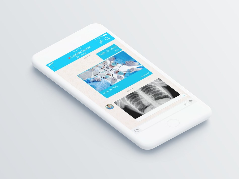 The MedsBla application - an innovative encrypted messaging system that provides a secure communication environment for doctors, other healthcare professionals, patients, medical students and administrators of Medical Institutions. (PRNewsfoto/Medlab Media Group)