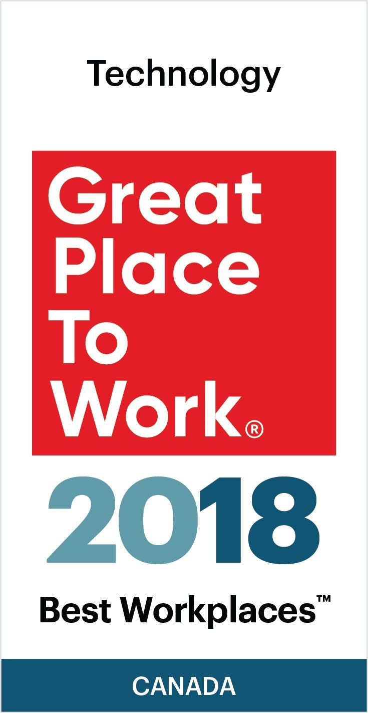 Logo: Great Place to Work®. (CNW Group/Visa Canada)