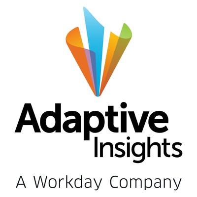Adaptive Insights, A Workday Company (PRNewsfoto/Adaptive Insights)