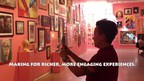 Santa Cruz Art and History Museum Exhibit Designers Used Hoodoo Augmented Reality App to Give Visitors Access to Information about Artworks Which Were Too Numerous For Use of Traditional Labels