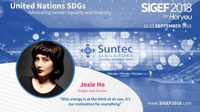 Sigef Josie Ho promotion piece.