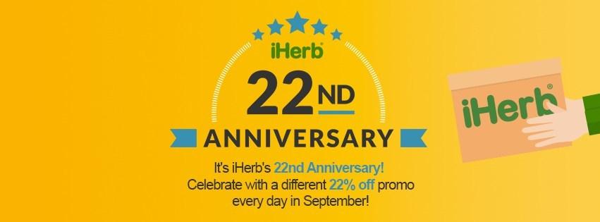 iHerb 22nd Anniversary