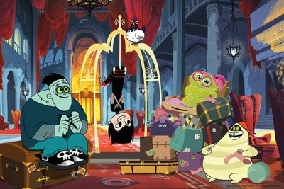 "Sony Pictures Animation and Nelvana sink their teeth into a second season of ""Hotel Transylvania: The Series."""