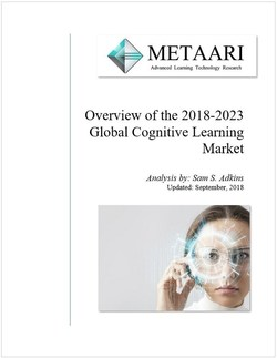 Cover of Metaari's 2018-2023 Overview of the Global Cognitive Learning Market Report
