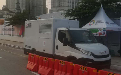 The Latest Vehicle Inspection Equipment Was Used at the Athletes Village