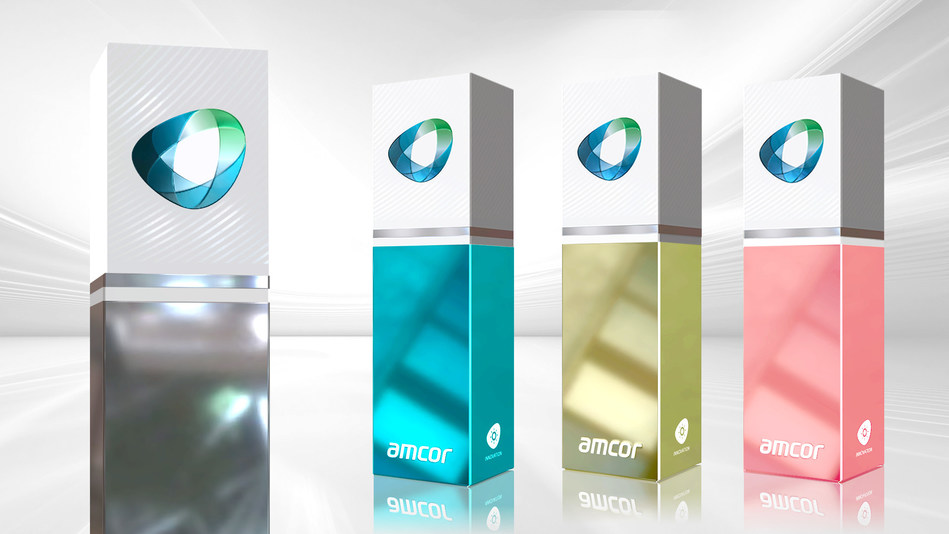A unique printing technology from Amcor that creates folding cartons with a premium look and that are easily recycled is now available to consumer brands doing business in Latin America. (PRNewsfoto/Amcor)