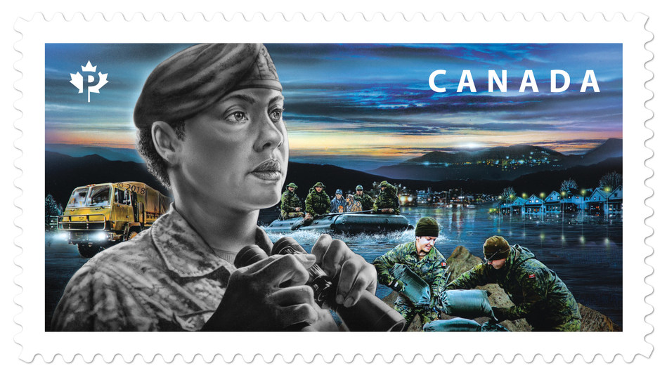 Canadian Armed Forces (CNW Group/Canada Post)