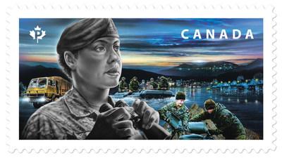 Les Forces armées canadiennes (Groupe CNW/Postes Canada)